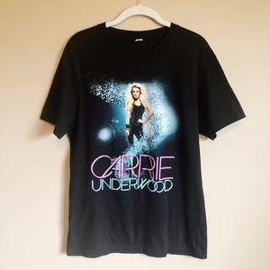 Carrie Underwood Graphic Tee Shirt S Band …